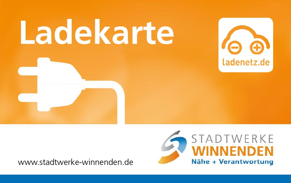 Stadtwerke Winnenden: Elektro Ladekarte
