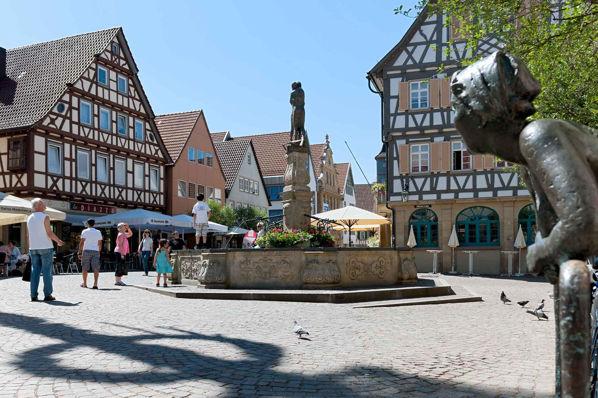 Stadtwerke Winnenden: Marktplatz Winnenden