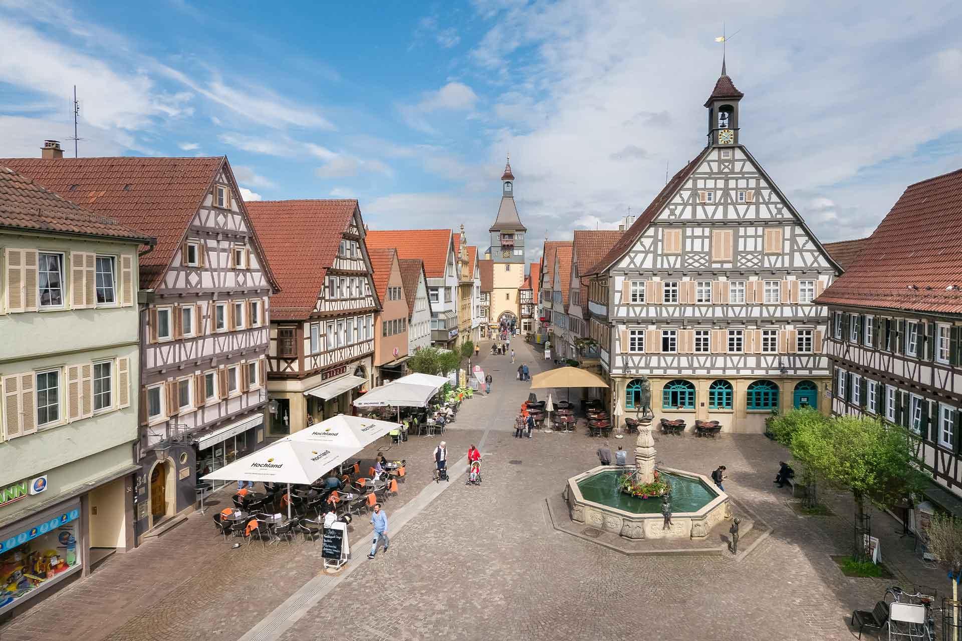 Stadtwerke Winnenden: Regionaler Energieversorger Marktplatz Winnenden