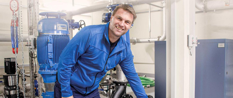 Stadtwerke Winnenden: Wassermonteur