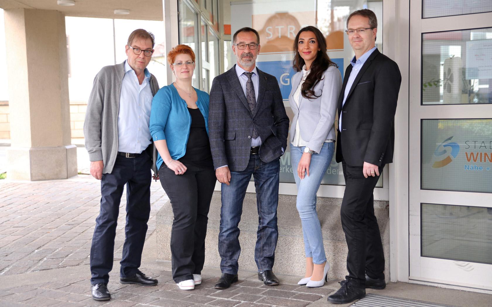 Stadtwerke Winnenden: Unternehmen Kundenzentrum Team