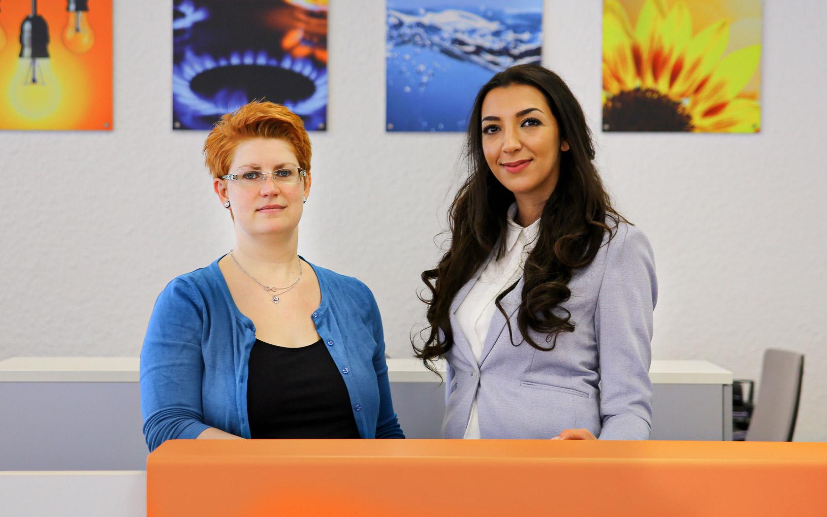 Stadtwerke Winnenden: Unternehmen Kundenzentrum Beraterinnen