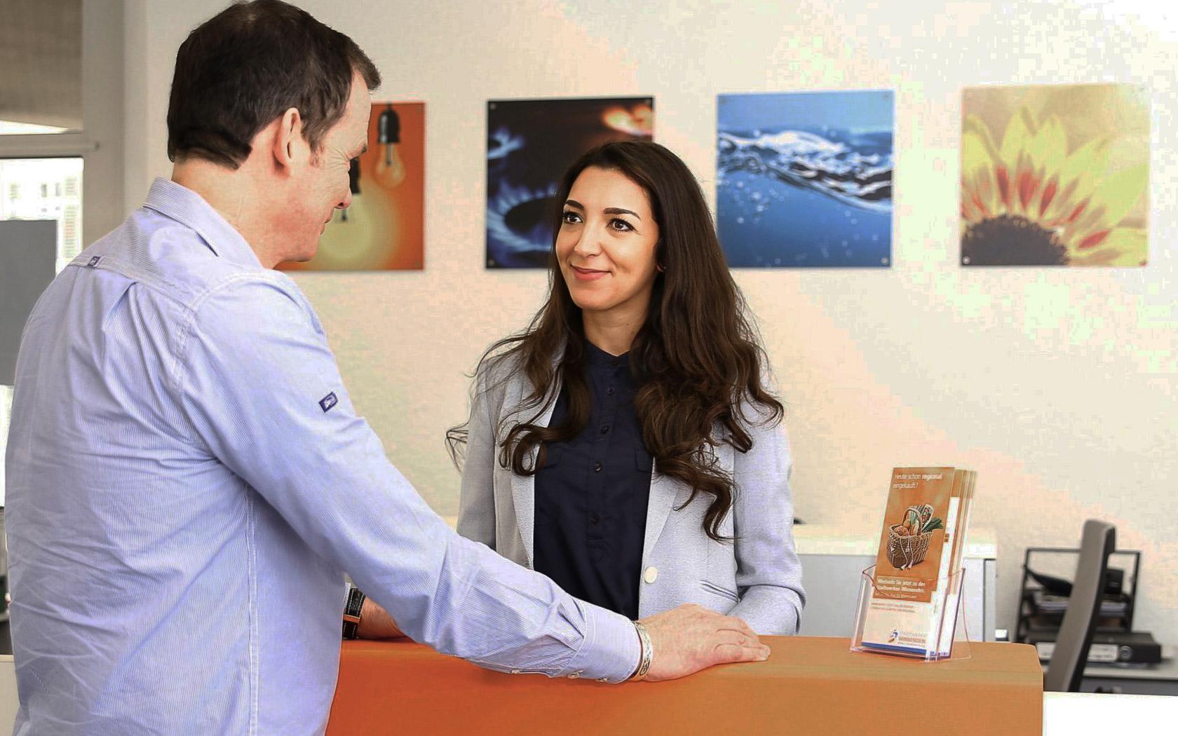 Stadtwerke Winnenden: Unternehmen Kundenzentrum Beratung