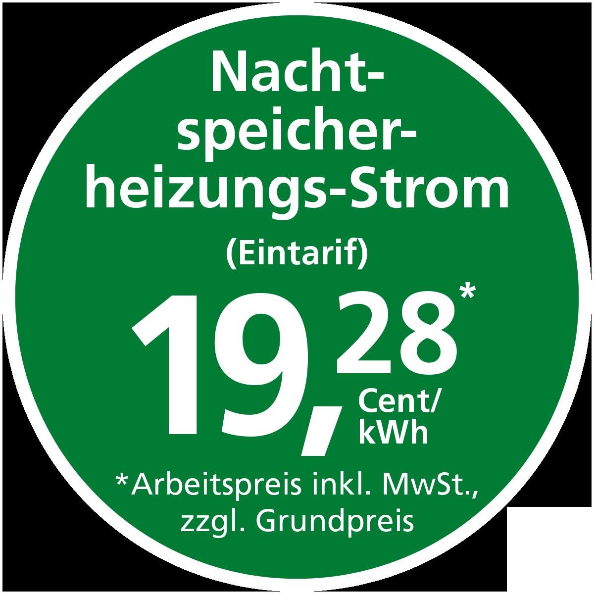 Stadtwerke Winnenden: Nachtspeicherheizungs-Strom