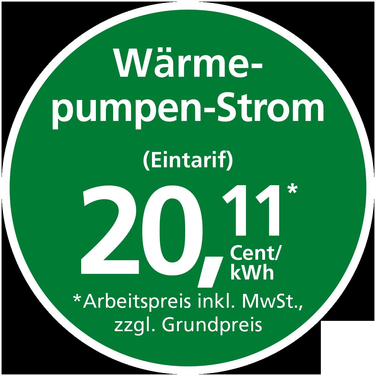 Stadtwerke Winnenden: Wärmepumpen-Ökostrom