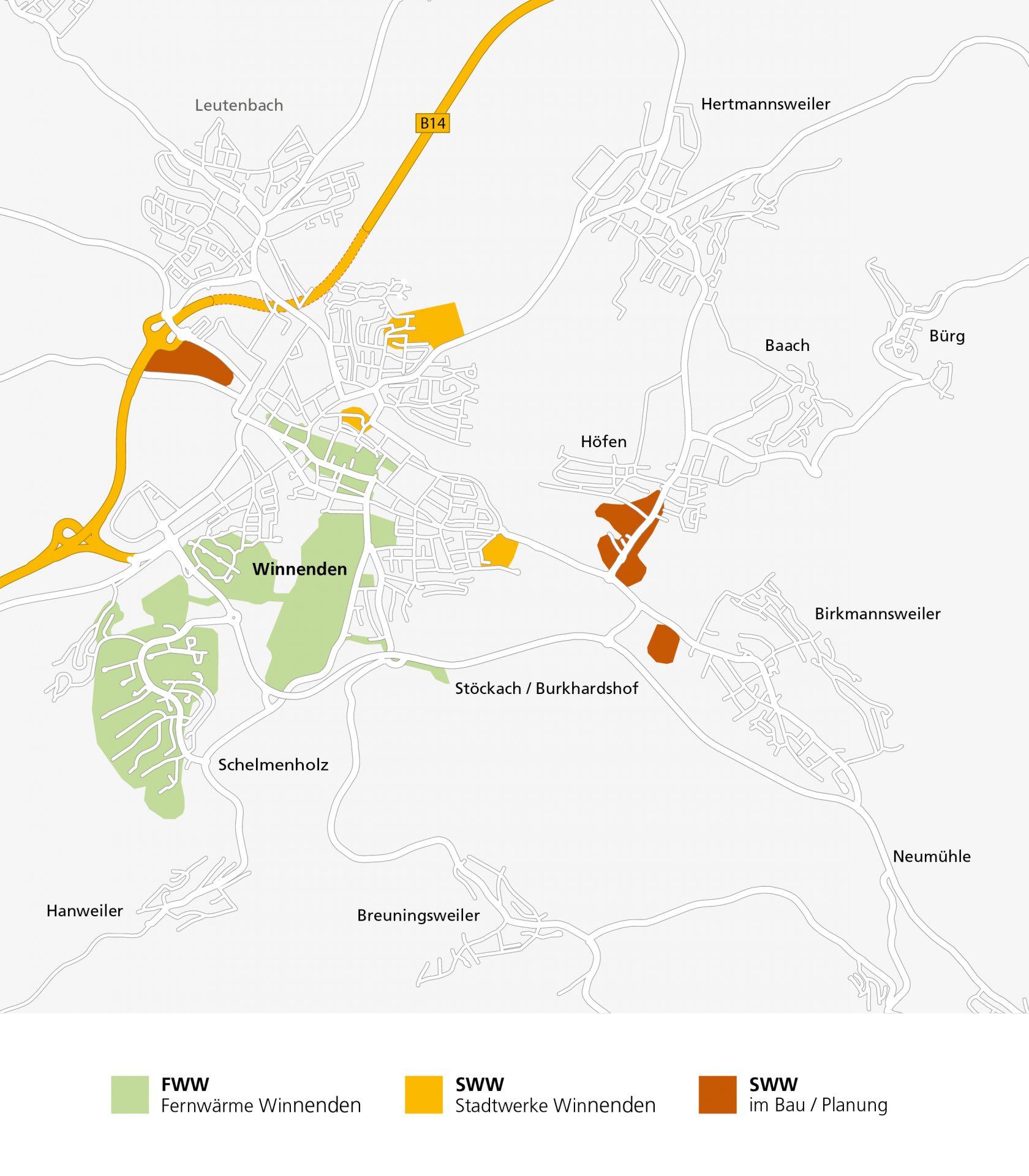 Stadtwerke Winnenden: Fernwärme Winnenden